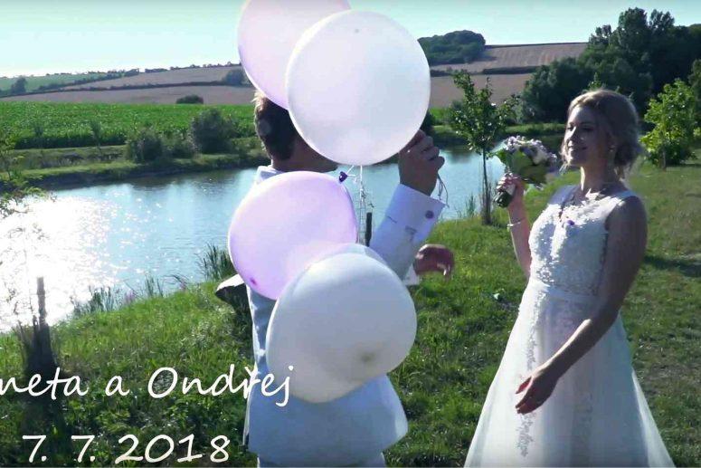 Svatební klip Aneta a Ondřej