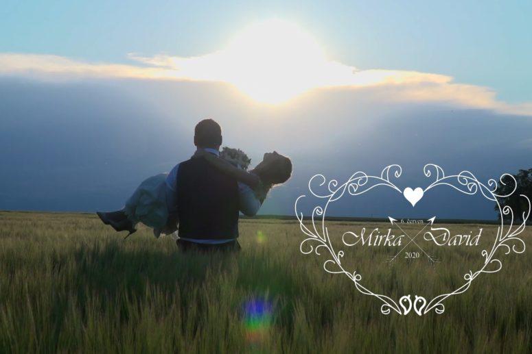 Svatební klip Mirky a Davida